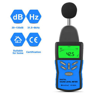 Digital Sound Level Meter Noise Measuring Tester Range 30 130db Decibel Meter