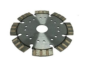 3 pack 4 5 inch Top Segmented Diamond Blade Cut Brick Refractory Wet dry