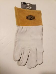 1 Pair 3xl Leather Welding Gloves