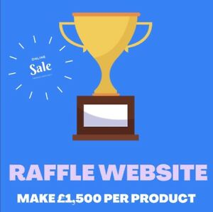 Online Competition Raffle Business Website Free Marketing Domain Hosting