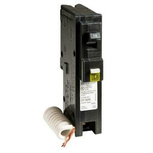Homeline 15 Amp Single pole Combination Arc Fault Circuit Breaker