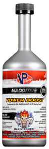Vp Racing Power Boost Fuel System Gas Cleaner Booster Restorer Treatment 16oz