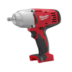 Milwaukee M18 18v 1 2 In Li ion Impact Wrench 2663 22 New Tool Only