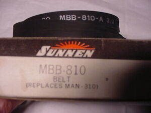 New Nos Sunnenmbb 810 Flat Drive Belt For 4 Spd Honing Machines