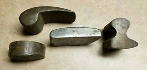 Lot Of 4 Vintage Auto Body Dollies Dent Removal Tools Old School Rat Rod