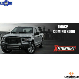 Ranch Hand Midnight Front Winch Plate For 2016 2020 Toyota Tacoma