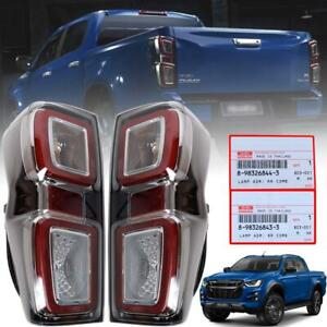 Tail Lamp Rear Light Led Pair For Isuzu Dmax D Max Holden Rodeo Pickup 2020 2021