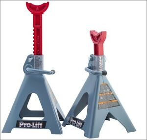 Pro Lift T 6906d Double Pin Jack Stand 6 Ton 1 Pair New 2020