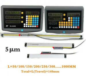 2axis 3axis Digital Readout Dro Display Linear Scale Encoder For Mill Lathe