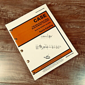 Case 730 830 Series Draft o matic Tractor Parts Manual Catalog S n8253501 After