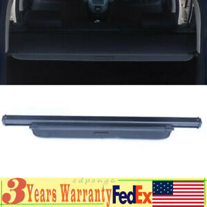 New Car Luggage Cargo Cover Rear Trunk Shade Retractable For Kia Soul 2010 2017