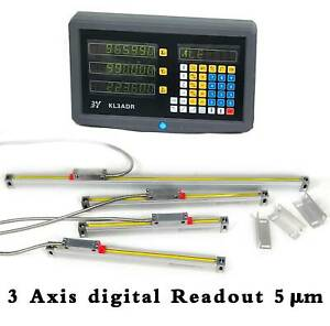 3 Axis Digital Readout Dro For Manual Lathe milling grinding Machine