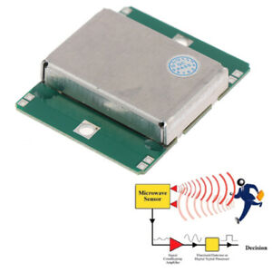 1pc Hb100 Microwave Motion Sensor 10 525ghz Doppler Radar Detector For Arduindae