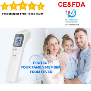 Medical Non contact Body Forehead Ir Infrared Laser Digital Thermometer Accurate