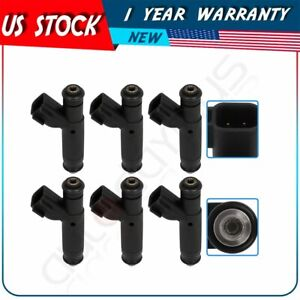 6 Fuel Injectors For Ford Mustang 3 8l 2004 2001 Ford Windstar 3 8l 1999 2003
