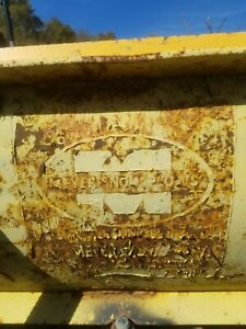 Snow Plow Pump Mounting Equipment Meyer Ford
