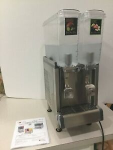 Crathco Cs 2e 16 Refrigerated Drink Dispenser 2 2 4 Gallon 9l Bowls Agitation
