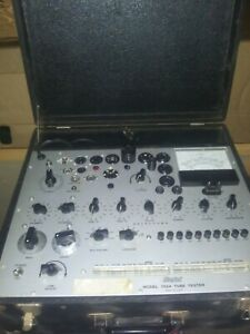 Hickok 752 a Tube Tester W Manual Last Known Working Condition