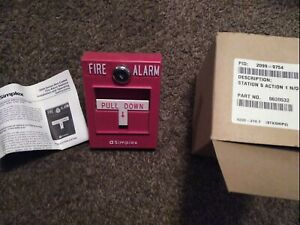 Simplex 2099 Series 2099 9762 Non Coded Fire Alarm Station new In Box