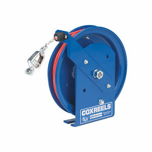 Coxreels Spring Retractable Static Discharge Cable Reel 50 ft sd 50