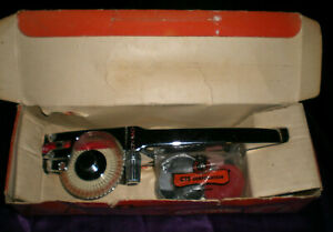 Vintage Dymo Chrome Tapewriter M 55 Hand Embosser With Accessories