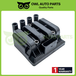 Uf484 New Ignition Coil For Vw Jetta Beetle Golf Clasico L4 2 0l 06a905097 C1393