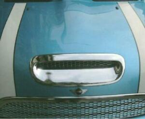 New Hood Scoop Grille Overlay Chrome 971075