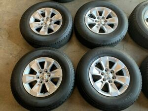 2020 Chevy Silverado Factory 17 Wheels Tires Rims Oem 5908 Suburban Tahoe 1500