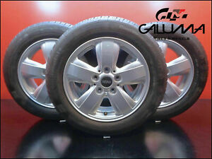 4 New Genuine Oem Mini Cooper Wheels 492 F56 175 65 15 Tires wheels tpms cap