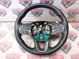 2020 20 Challenger R T Scat Pack Oem Automatic Steering Wheel W Paddles Black