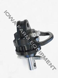 Hydraulic Rotator Ife Hr3603 360 continuous Rotation axle Mounted 6600lb Cap