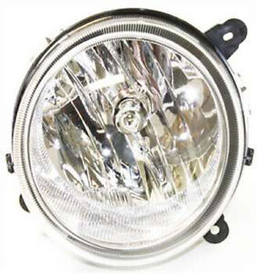 Left Driver Side Headlight Head Lamp For 2007 2010 Jeep Compass Patriot