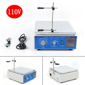 Magnetic Stirrer With Hot Plate Digital Thermostat 300w Heating 1250 Rpm