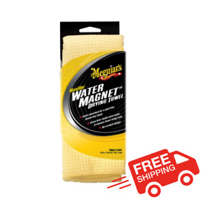 New Meguiars Water Magnet Microfiber Drying Towel x2000 Free Shipping