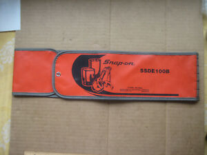 Empty Snap On Tools C109b Kit Bag For Snap On Ssde100b Set 4 3 4 X 36 Usa