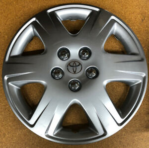 New 2005 2006 2007 2008 Toyota Corolla Le 15 6 Spoke Hubcap Wheelcover