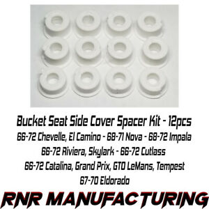 Gm A Body Bucket Seat Side Cover Spacer Kit