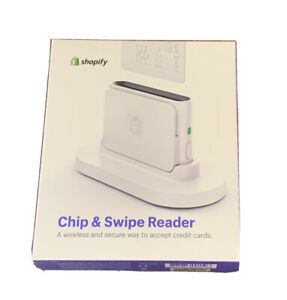 New Shopify Chip And Swipe Wireless Credit Card Reader Machine Model S1701
