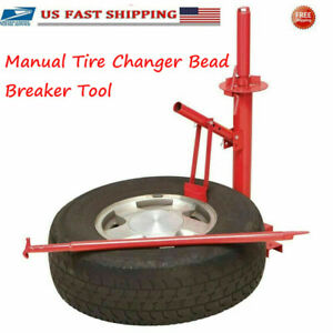 Manual Tire Changer Bead Breaker Tool Machine For Car Truck Trailer Portable Usa