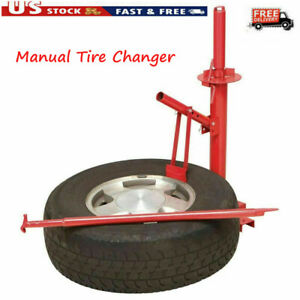 Manual Tire Changer Bead Breaker Tool Machine For Car Truck Trailer Portable