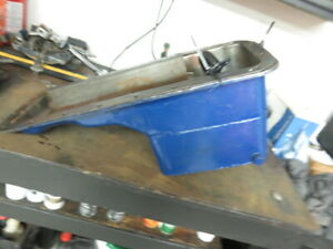 1958 1976 Ford Fe 352 390 406 427 428 8 Quart Deep Oil Pan Front Sump Mustang