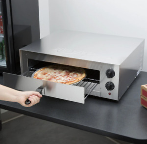 Avantco Cpo16ts Stainless Steel Countertop Pizza Snack Oven With Adjustable