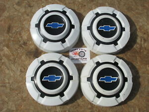 1968 74 Chevy 1 2 Ton Pickup Truck Blazer Poverty Dog Dish Hubcaps Set Of 4