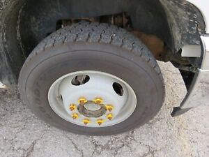 2011 Up Chevrolet 2500hd 3500 Srw 19 5 Tires Wheels With Spacers 8 Lug Axles
