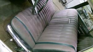 1968 Chrysler New Yorker Sedan Seat Set front And Rear Green