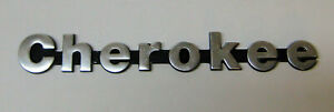 Jeep Cherokee Fender And Lift Gate Nameplate Emblem 1988 1992