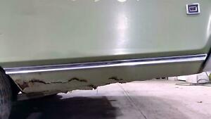 1968 Chrysler New Yorker Left Rear Quarter Panel Chrome stainless Trim