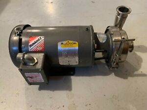 Thomsen Centrifugal Sanitary A3 Pump With 2 Hp Baldor Motor