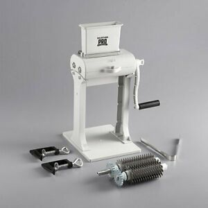 Backyard Pro Mt 31 Butcher Series 31 blade Meat Tenderizer With Jerky Slicer