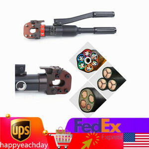 6t Hydraulic Cable Cutter Wire Cutting Tool Steel Wire Rope Copper Bolt Cutter